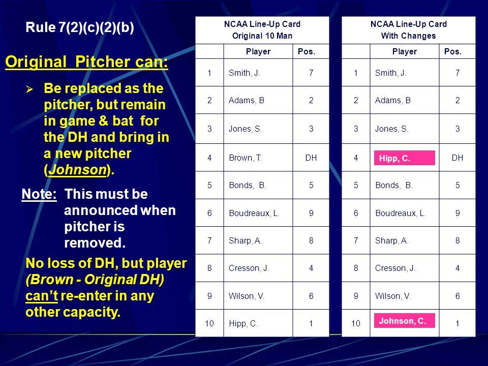 Original Pitcher can: Rule 7(2)(c)(2)(b)