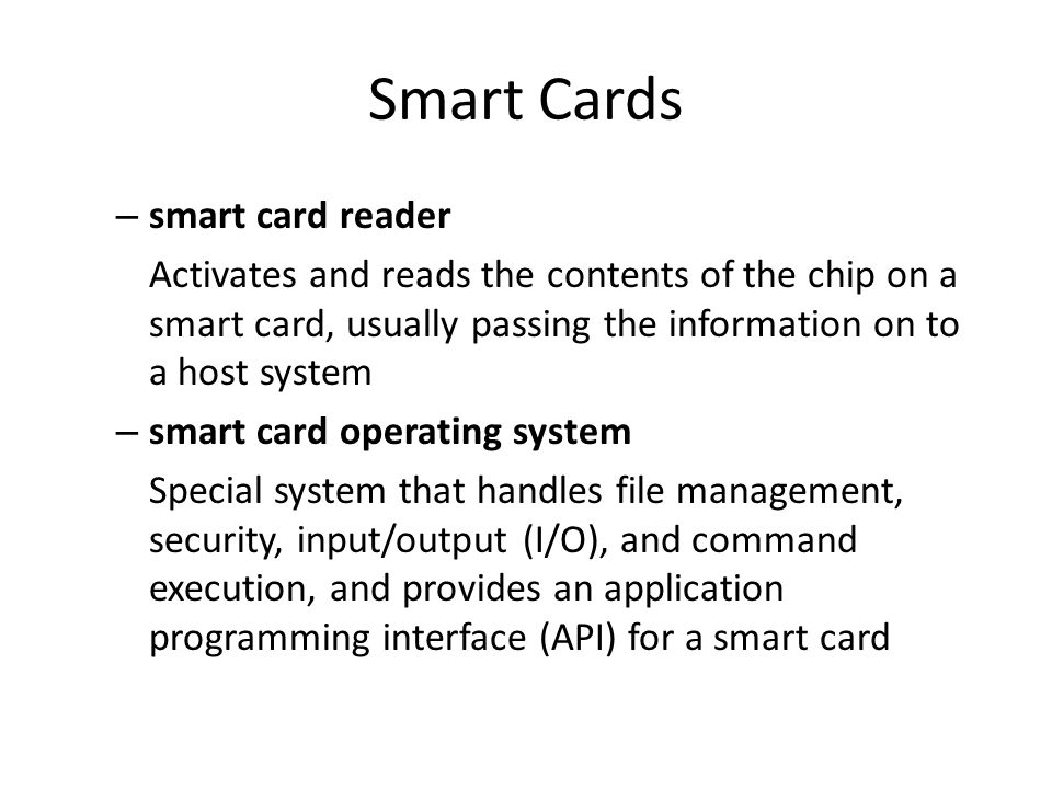 Smart Cards APPLICATIONS OF SMART CARDS Retail Purchases Transit Fares