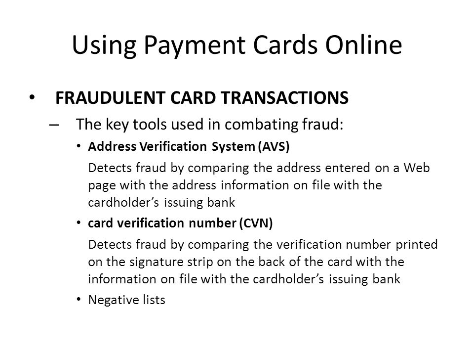 How an Online Credit Transaction Works