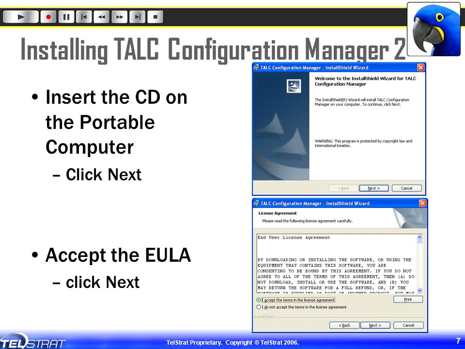 Installing TALC Configuration Manager 2