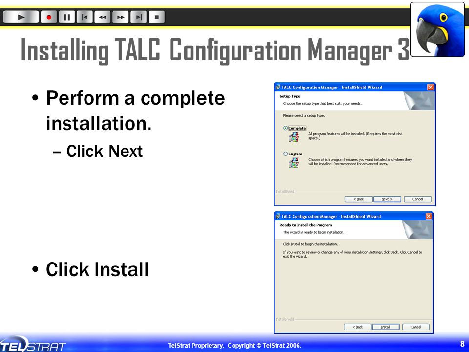 Installing TALC Configuration Manager 3