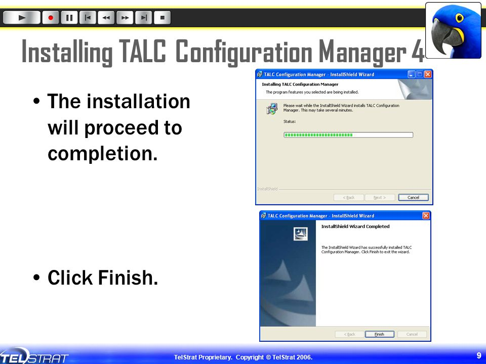 Installing TALC Configuration Manager 4