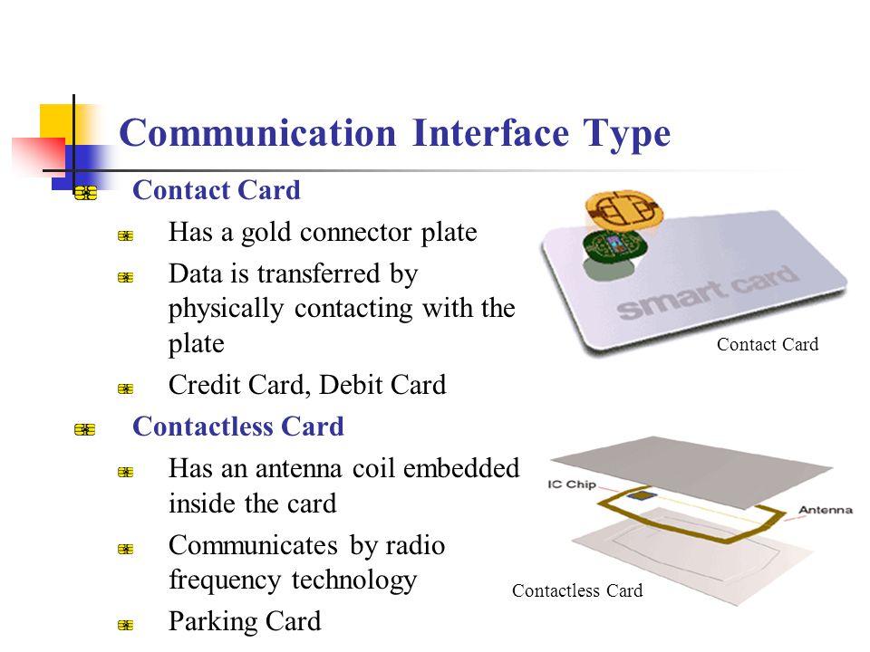 Communication Interface Type