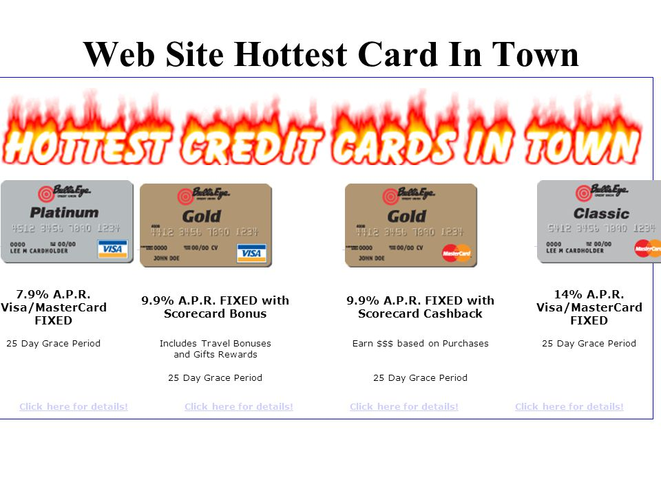 Web Site Hottest Card In Town