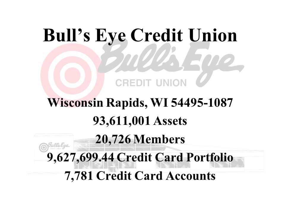 Bull's Eye Credit Union