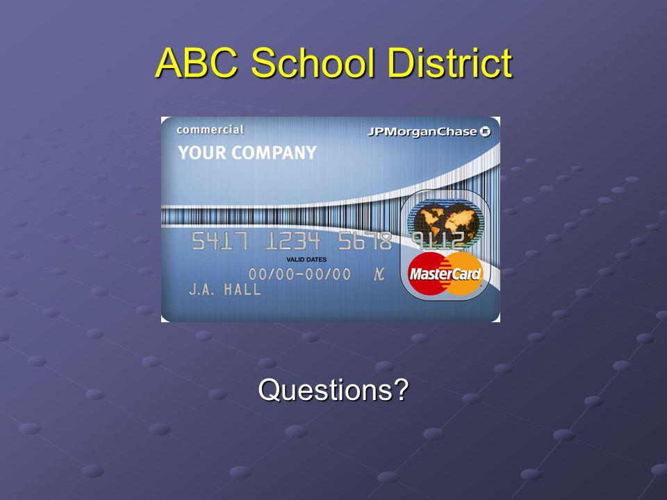 ABC School District Questions