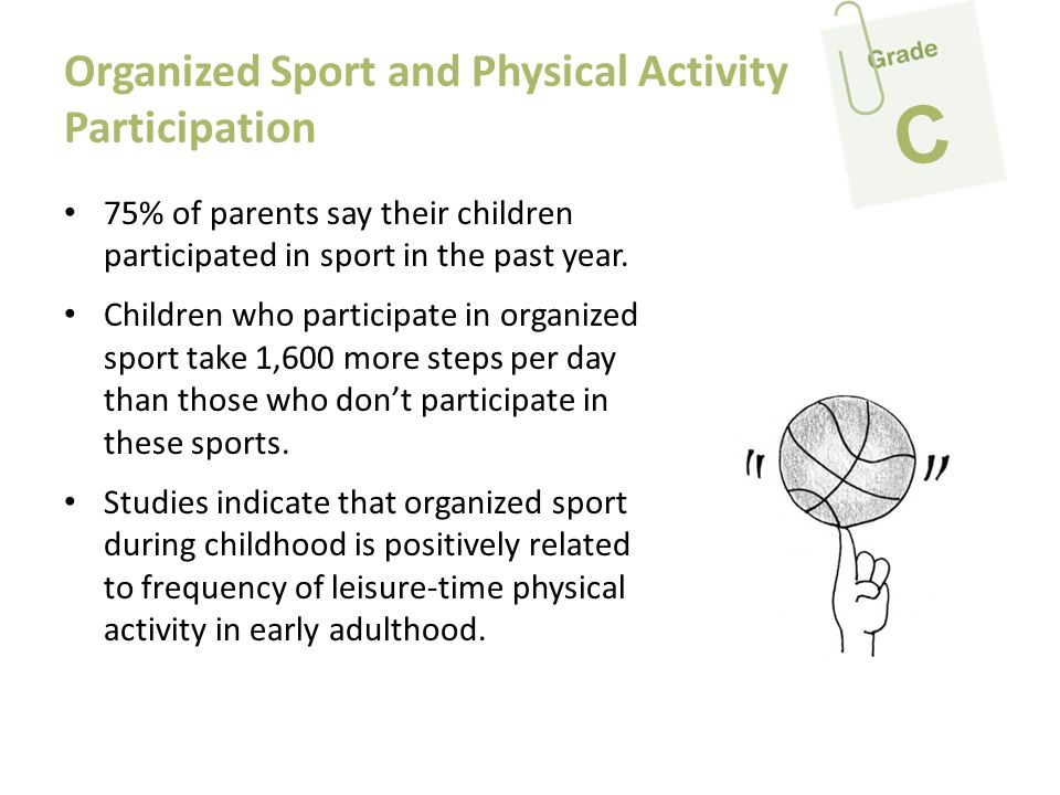 Organized Sport and Physical Activity Participation