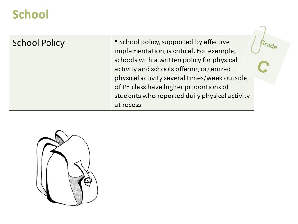 School School Policy.