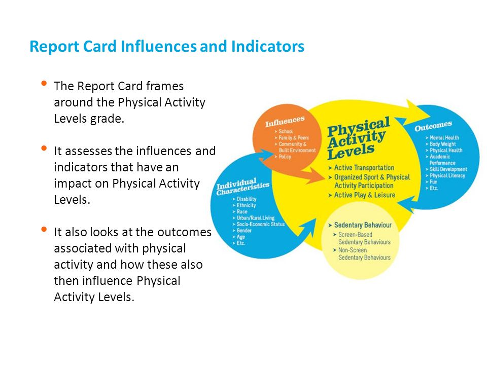 Report Card Influences and Indicators