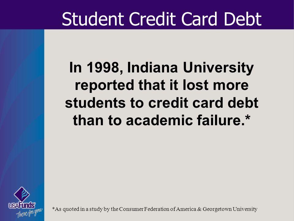 Student Credit Card Debt
