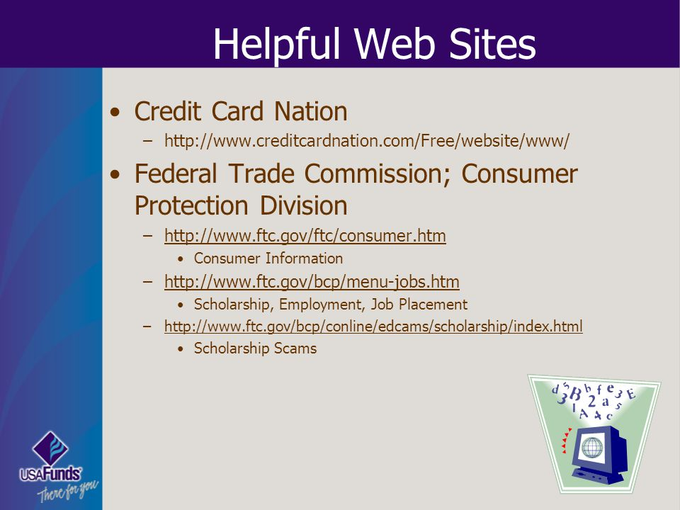 Helpful Web Sites Credit Card Nation