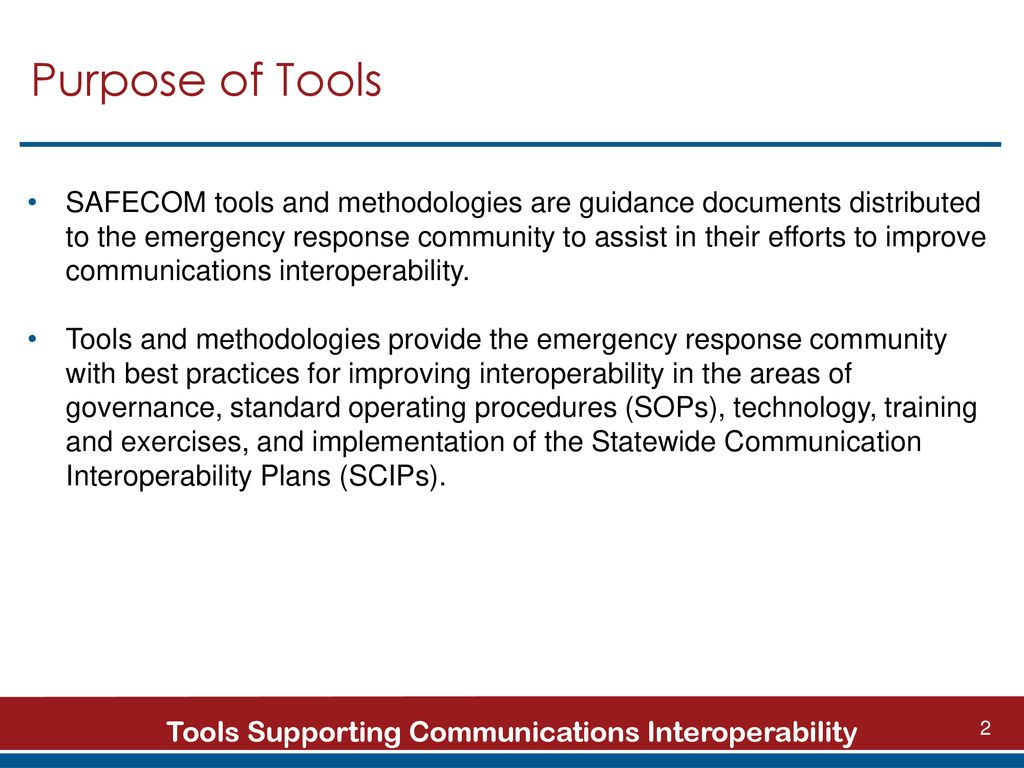 Communications Interoperability Ppt Download