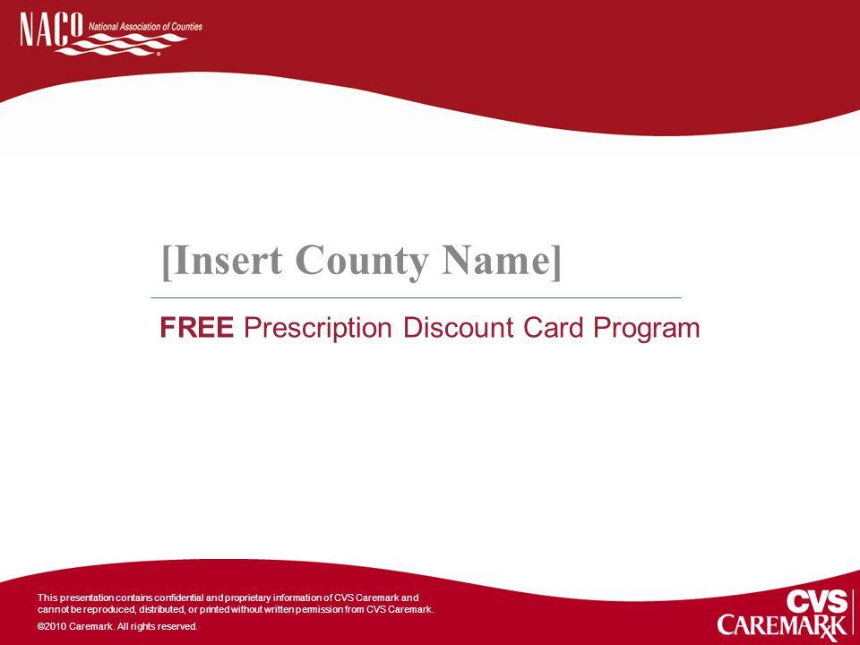 FREE Prescription Discount Card Program