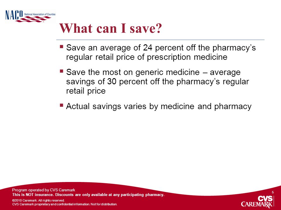 What can I save Save an average of 24 percent off the pharmacy's regular retail price of prescription medicine.