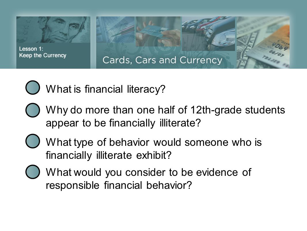 What is financial literacy