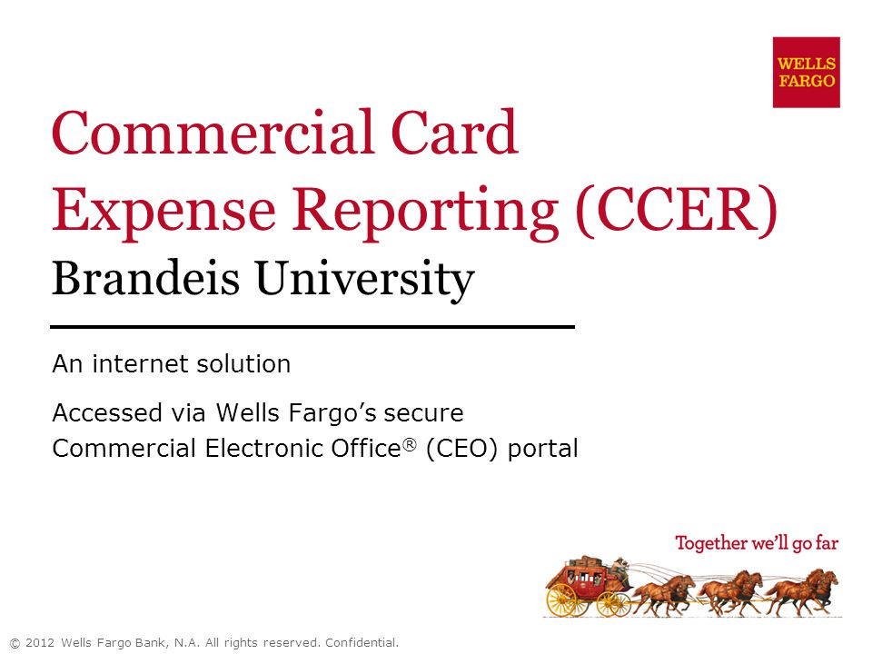 commercial card expense reporting ccer brandeis university ppt