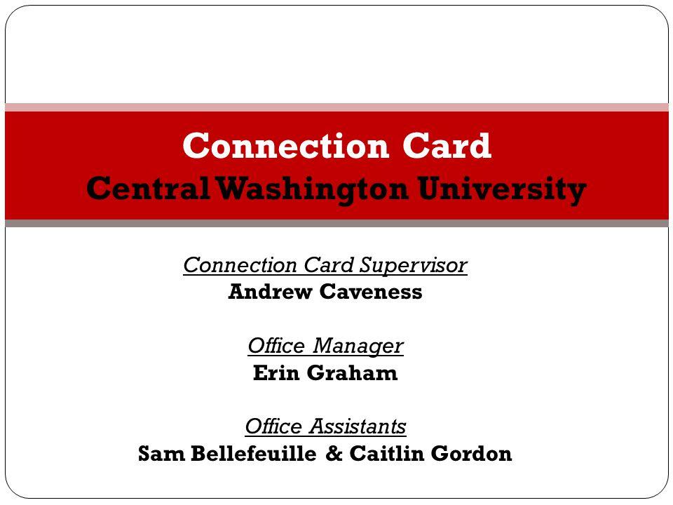 Connection Card Central Washington University