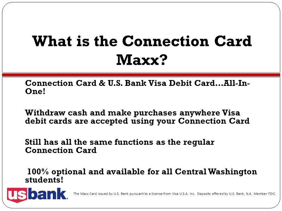 What is the Connection Card Maxx