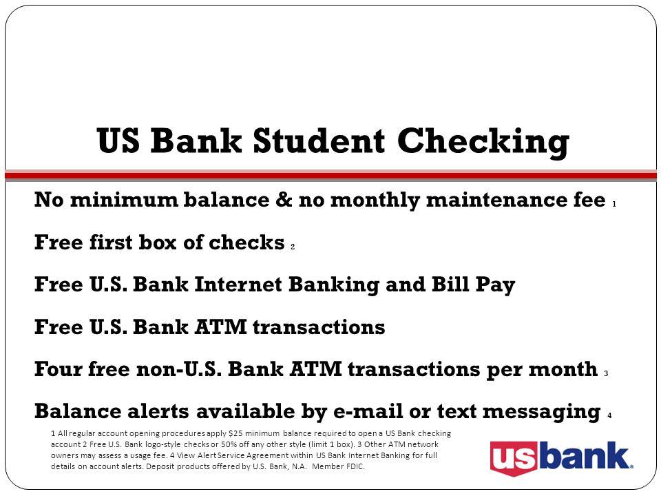 US Bank Student Checking