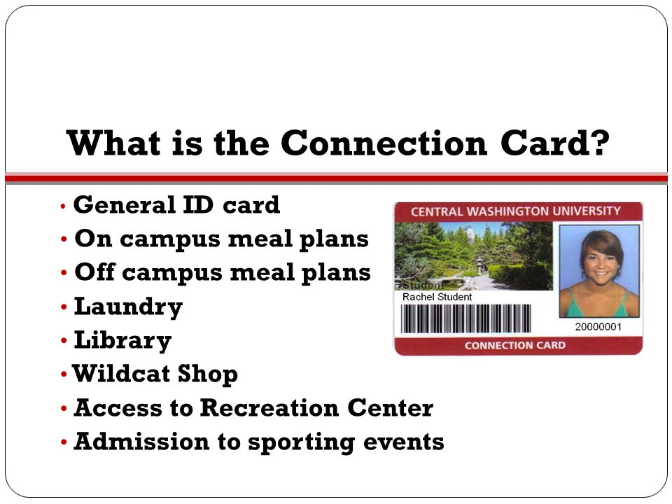 What is the Connection Card