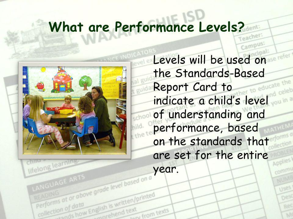 What are Performance Levels
