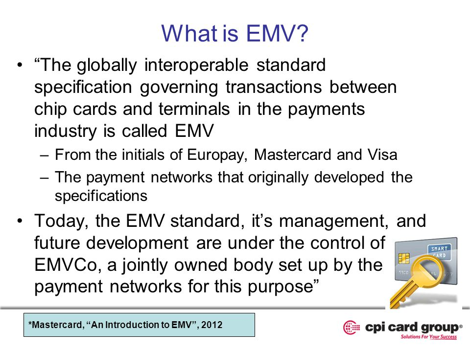 What is EMV