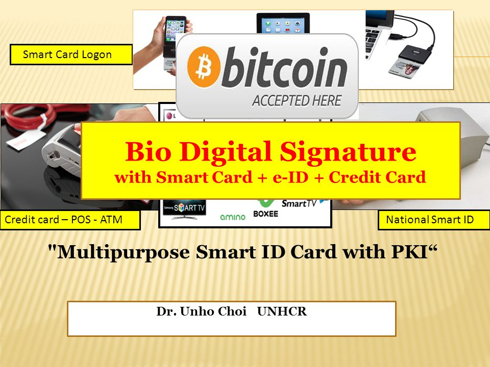 Bio Digital Signature Multipurpose Smart ID Card with PKI