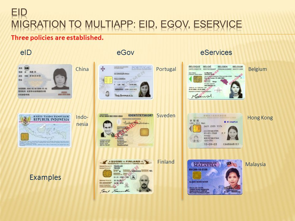 eID Migration to Multiapp: eID, eGov, eService