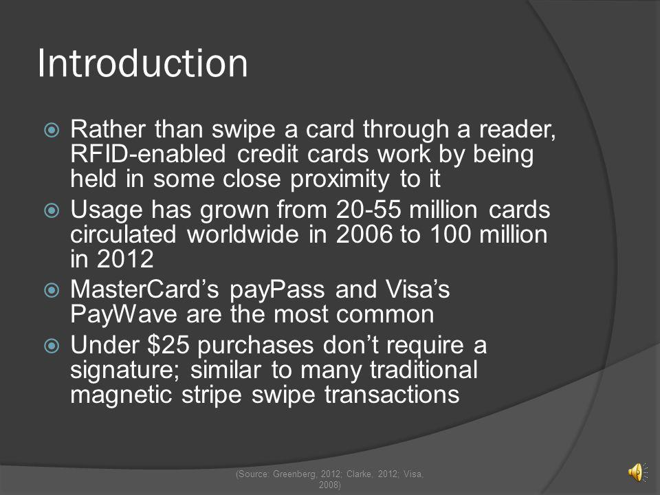 (Source: Greenberg, 2012; Clarke, 2012; Visa, 2008)