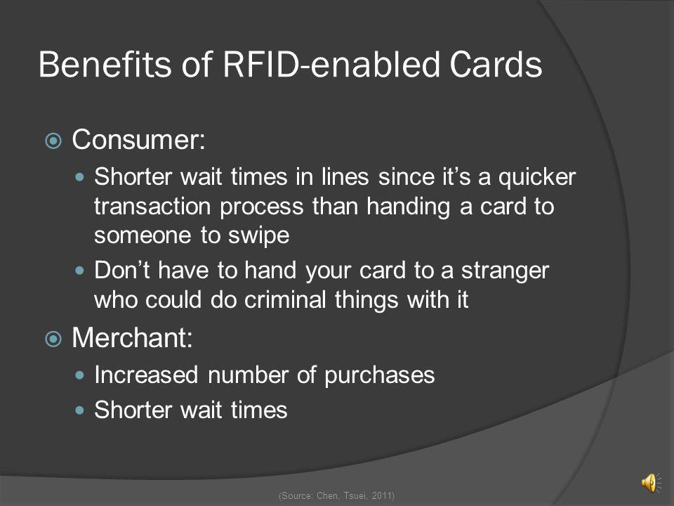 Benefits of RFID-enabled Cards