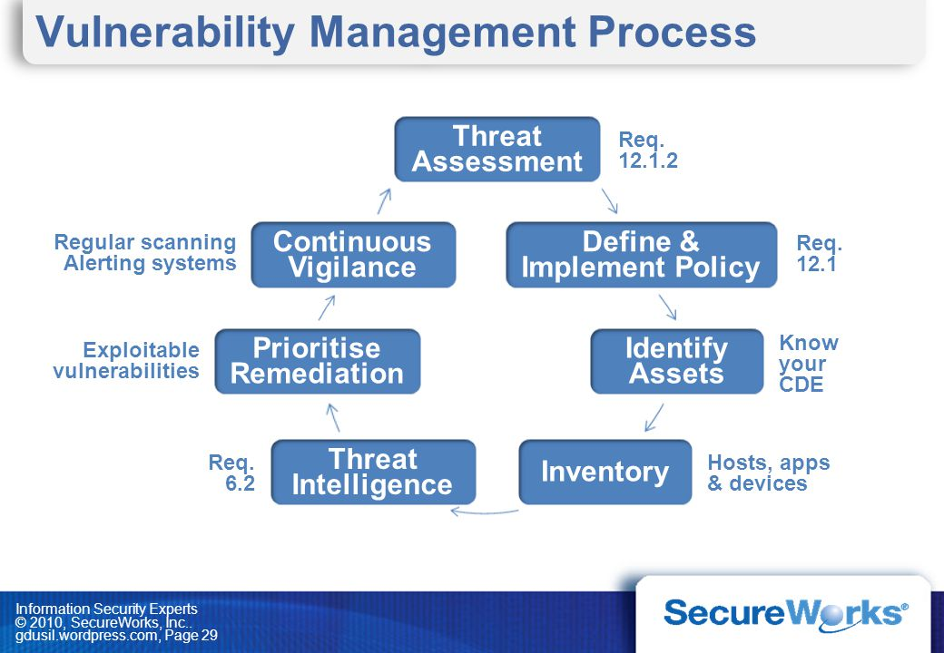 Vulnerability Management Process