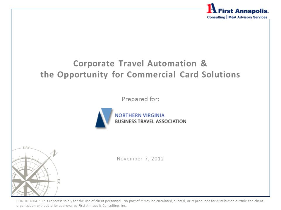 Corporate Travel Automation & the Opportunity for Commercial Card Solutions