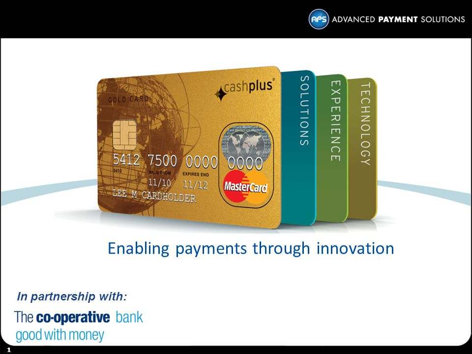 Enabling payments through innovation