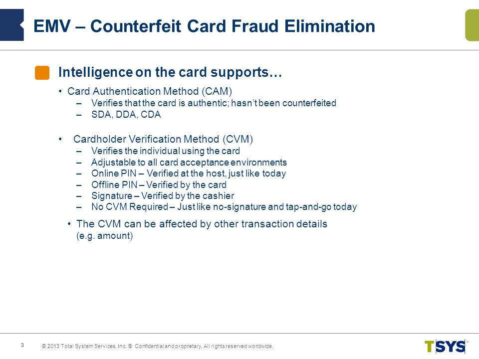 EMV – Counterfeit Card Fraud Elimination