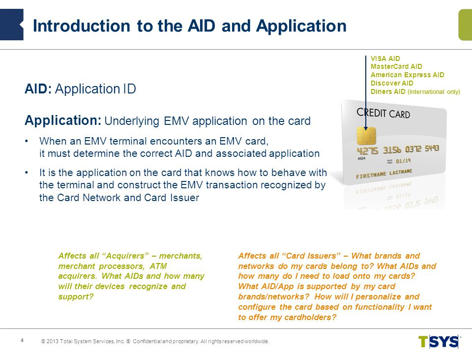Introduction to the AID and Application