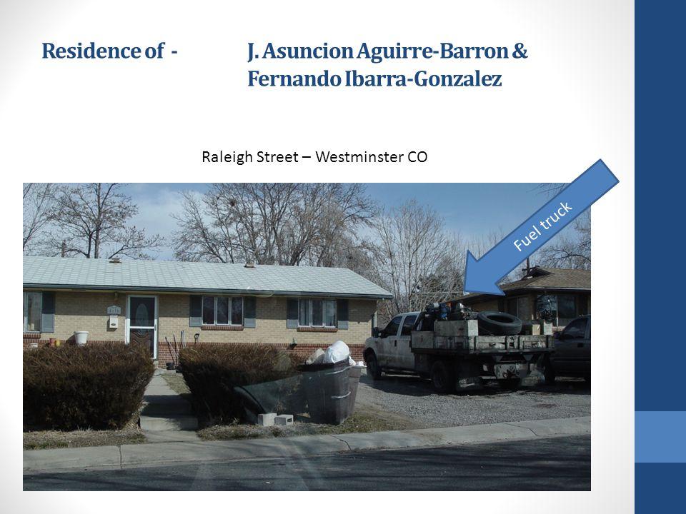 Residence of - J. Asuncion Aguirre-Barron & Fernando Ibarra-Gonzalez
