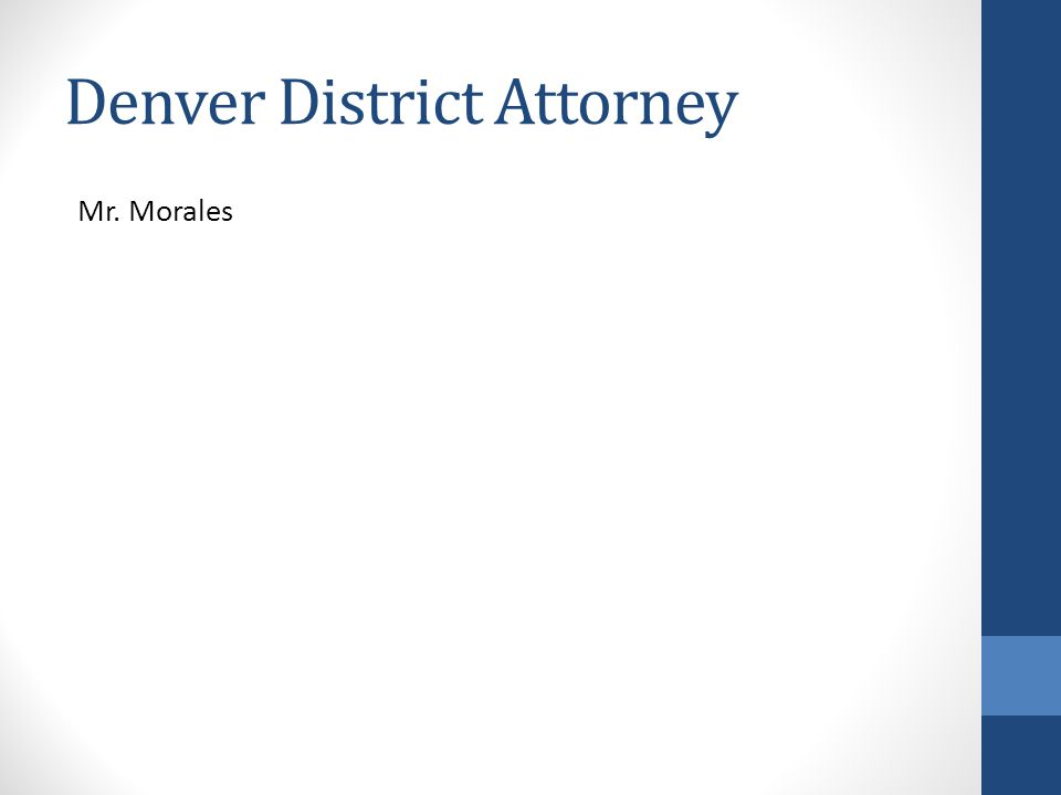 Denver District Attorney