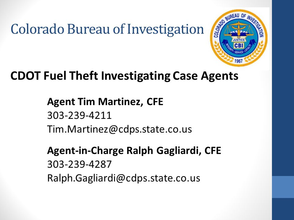 Colorado Bureau of Investigation
