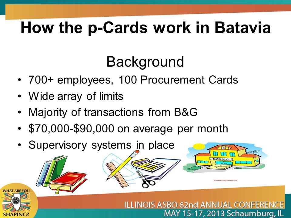How the p-Cards work in Batavia