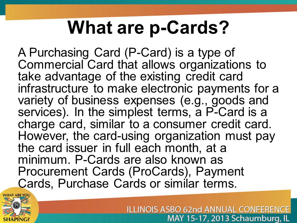 What are p-Cards