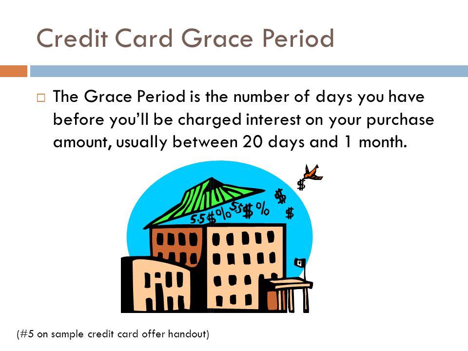 Credit Card Grace Period