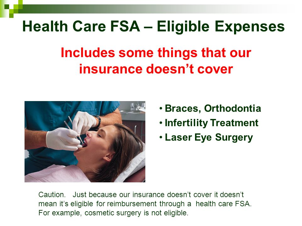 Health Care FSA – Eligible Expenses