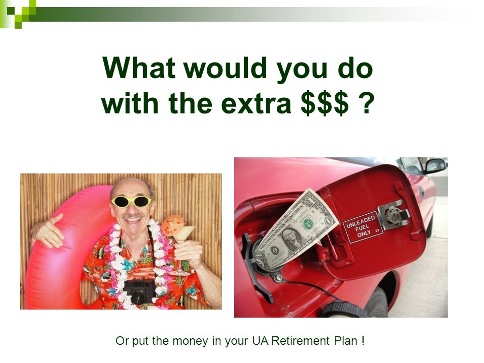 What would you do with the extra $$$
