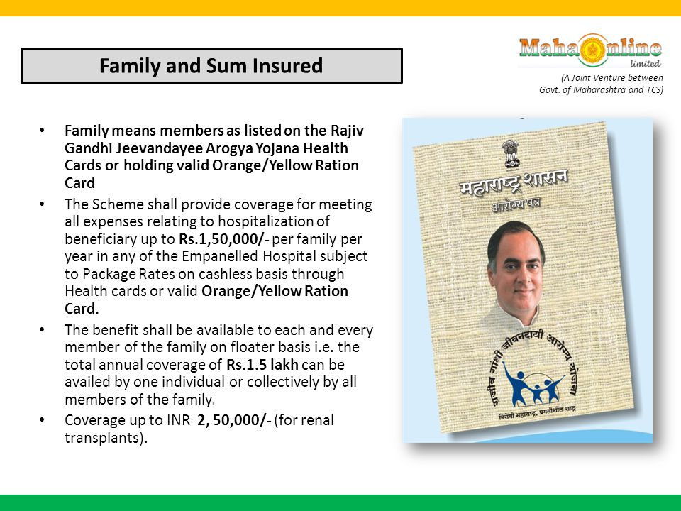 Family and Sum Insured