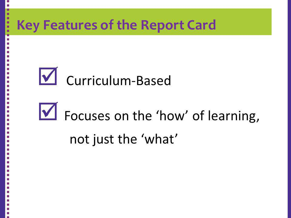  Focuses on the 'how' of learning,