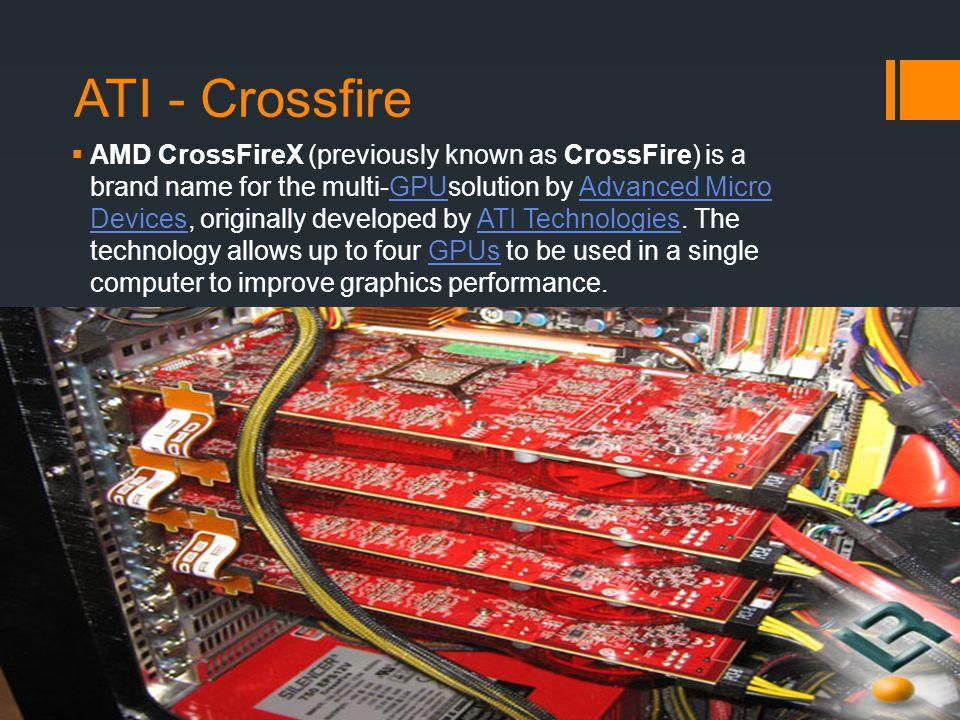 ATI - Crossfire