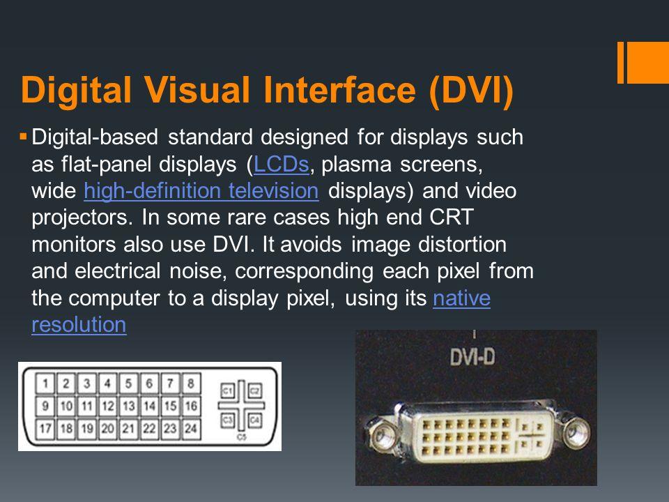 Digital Visual Interface (DVI)