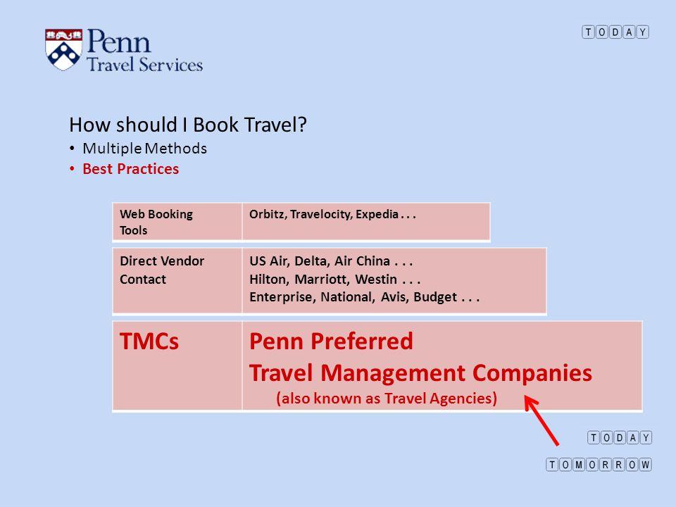 Travel Management Companies
