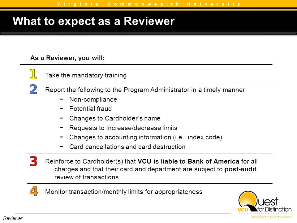 What to expect as a Reviewer