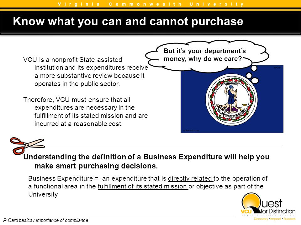 Know what you can and cannot purchase